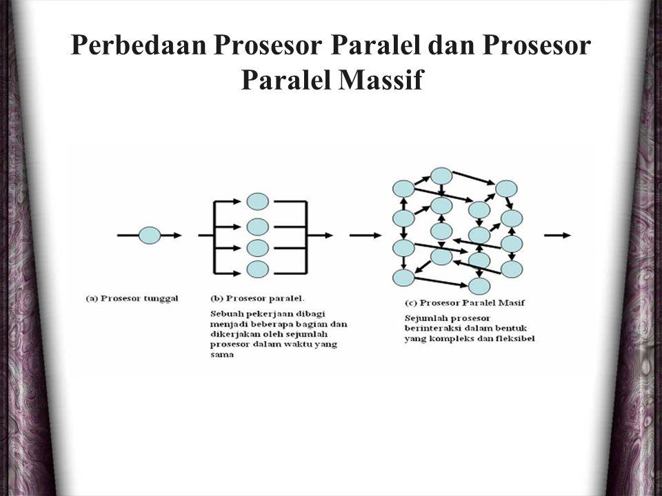 Perbedaan Prosesor Paralel dan Prosesor Paralel Massif