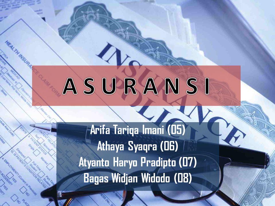 Arifa Tariqa Imani (05) Athaya Syaqra (06) Atyanto Haryo Pradipto (07) Bagas Widjan Widodo (08)