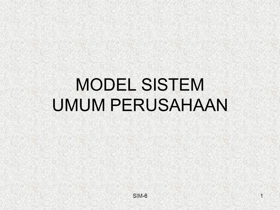 MODEL SISTEM UMUM PERUSAHAAN SIM-61