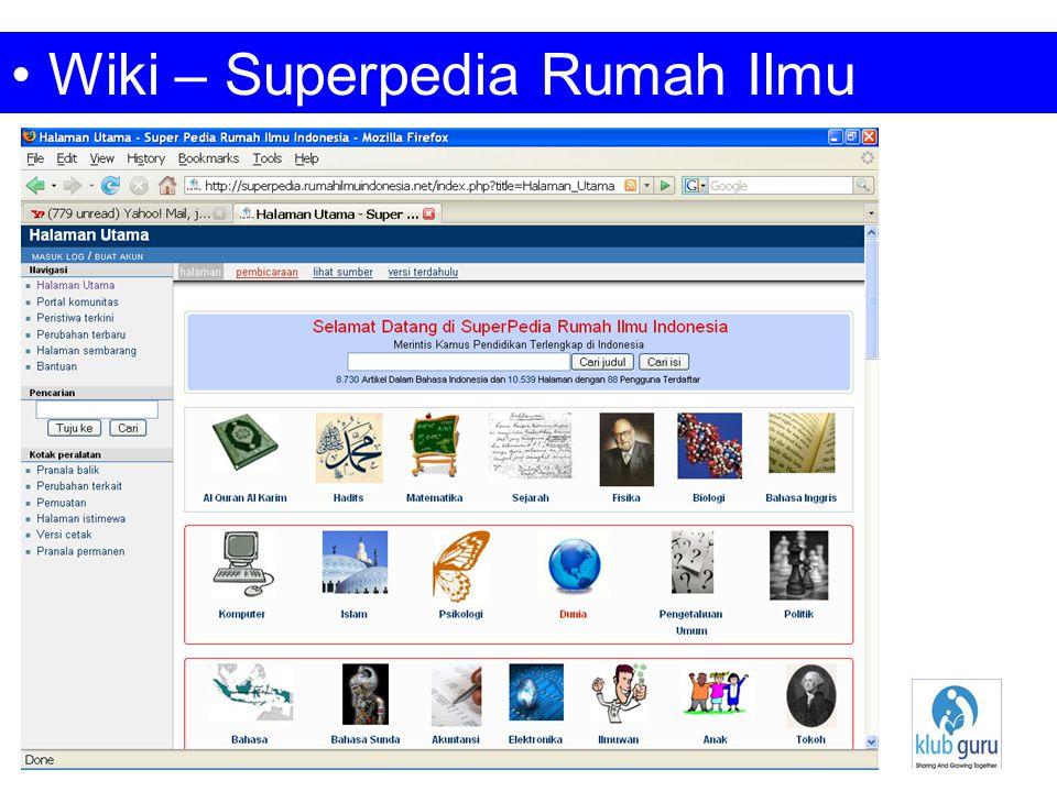 Wiki – Superpedia Rumah Ilmu