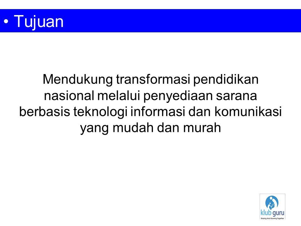 Notebook murah (SAGUSALA) Digital Media Learning Mobile Internet Access (SAGUNET) Blog KlubGuru KlubGuru Commerce Zone (KGzone) Email system + SMS System Software Licensing Financial Strategy Program (2009)