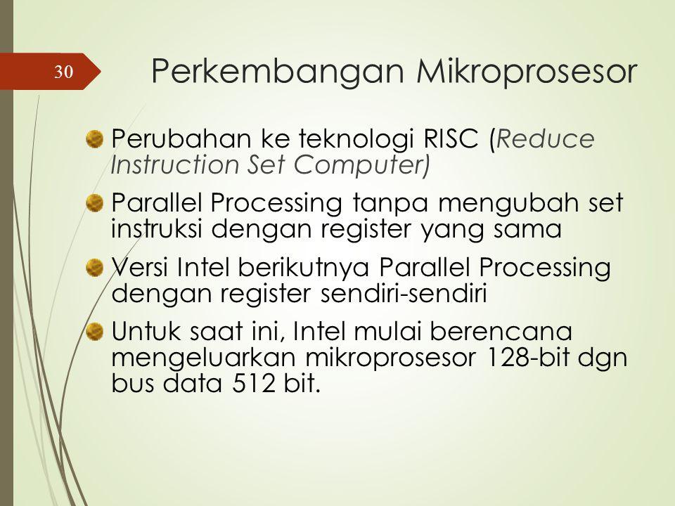 Th. 1983 : Intel mengeluarkan mikroprosesor 16-bit 80286, dengan kemampuan memori 16 MB Th.