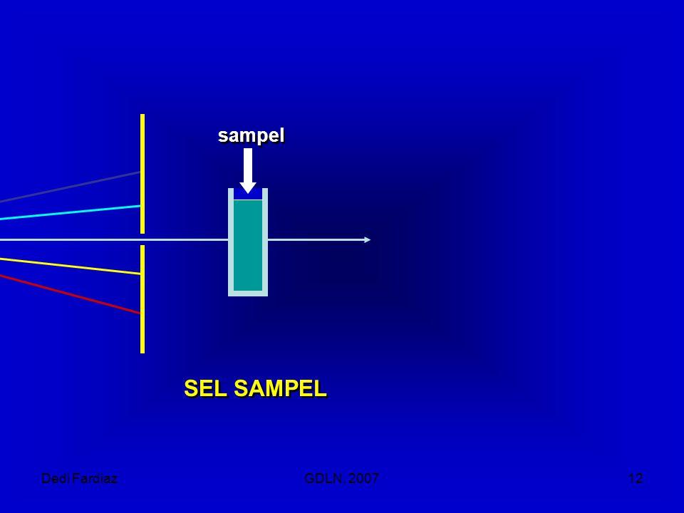 Dedi FardiazGDLN, 200712 sampel SEL SAMPEL