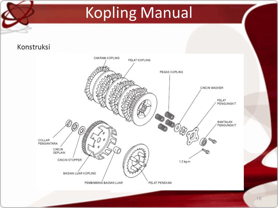 Kopling Manual Konstruksi 18