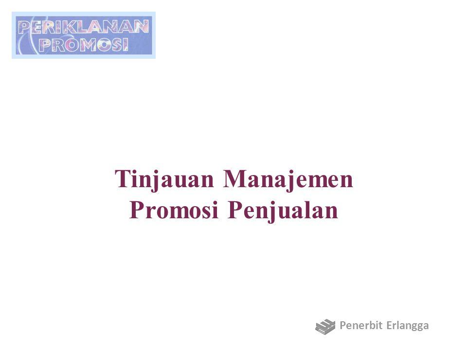 Tinjauan Manajemen Promosi Penjualan Penerbit Erlangga