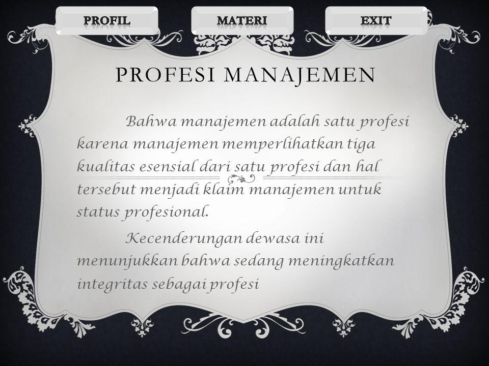 Kapan manajemen dikategorikan sebagai seni ? Pada hal ini bersifat abstrak,yakni lebih menitik beratkan pada keahlian agar mencapai tujuan.