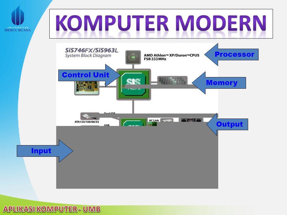 Memory Input Processor Control Unit Output