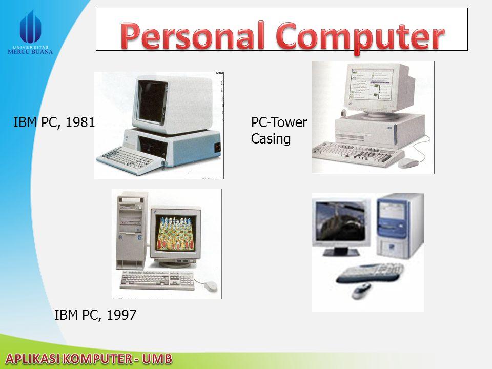 22/04/2015 IBM PC, 1981 PC-Tower Casing IBM PC, 1997