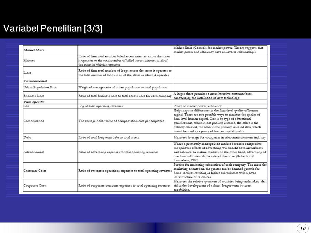 10 Variabel Penelitian [3/3]