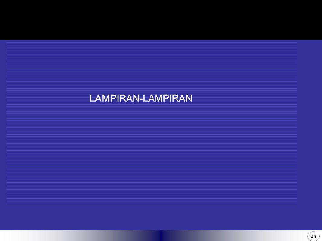 23 LAMPIRAN-LAMPIRAN