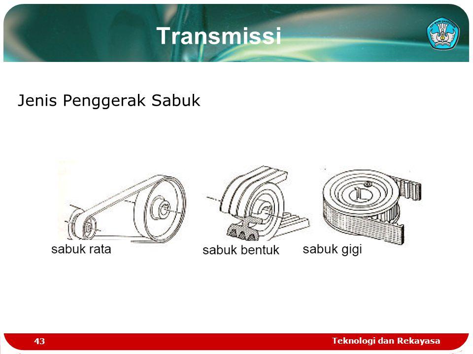 Teknologi dan Rekayasa 43 Jenis Penggerak Sabuk Transmissi