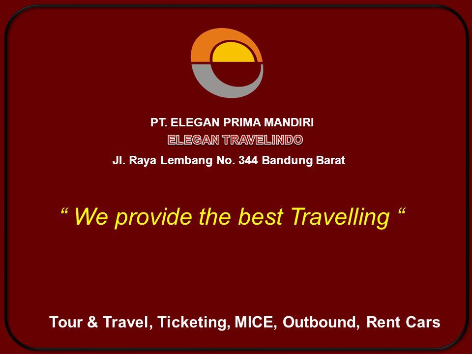 About Us adalah perusahaan yang bergerak dalam bidang jasa Tour & Travel, Ticketing, MICE, Event Organizer, Outbound, Rent Cars yang siap melayani serta memfasilitasi seluruh kebutuhan anda baik untuk kegiatan pribadi, Kantor / Corporate maupun keperluan bisnis yang mampu memberikan perbedaan dibanding dengan perusahaan sejenis.