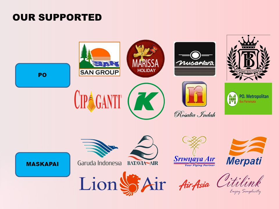 OUR SUPPORTED PO MASKAPAI