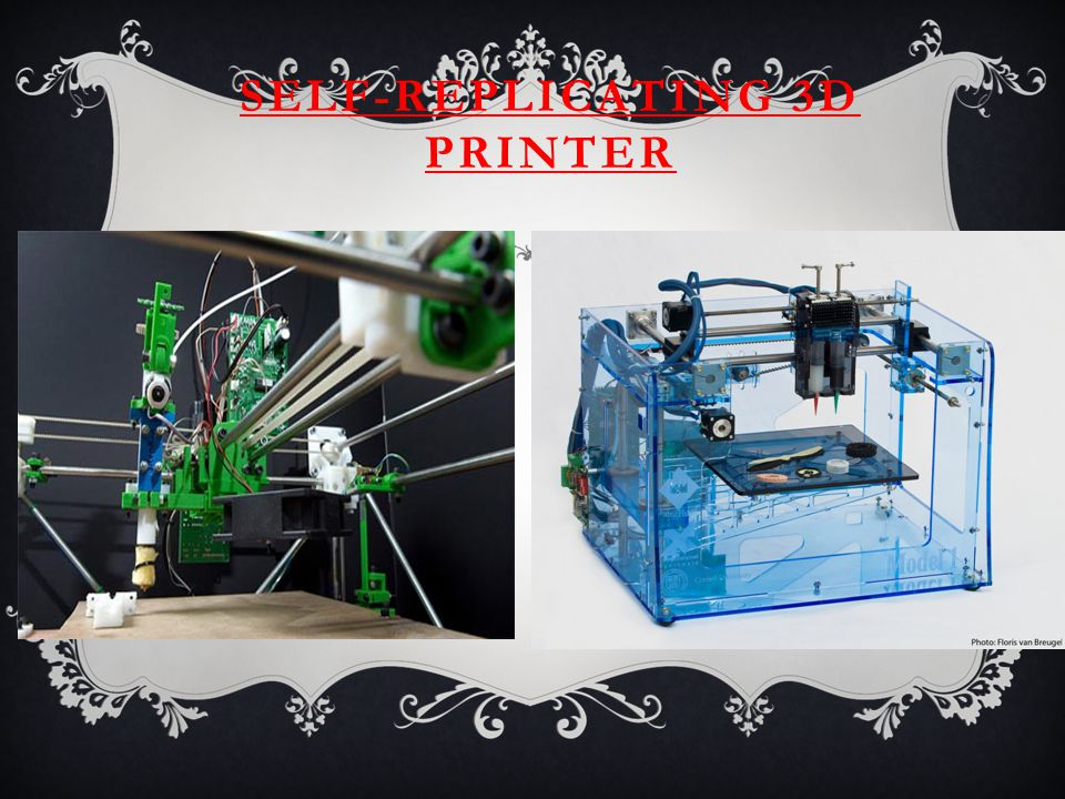 SELF-REPLICATING 3D PRINTER