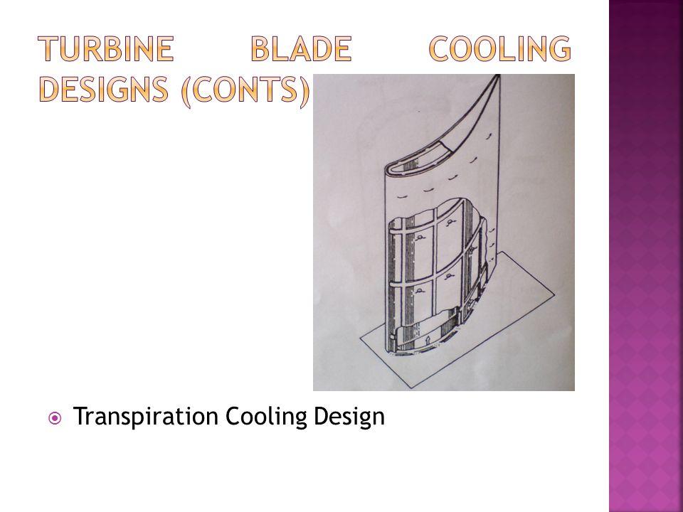  Transpiration Cooling Design