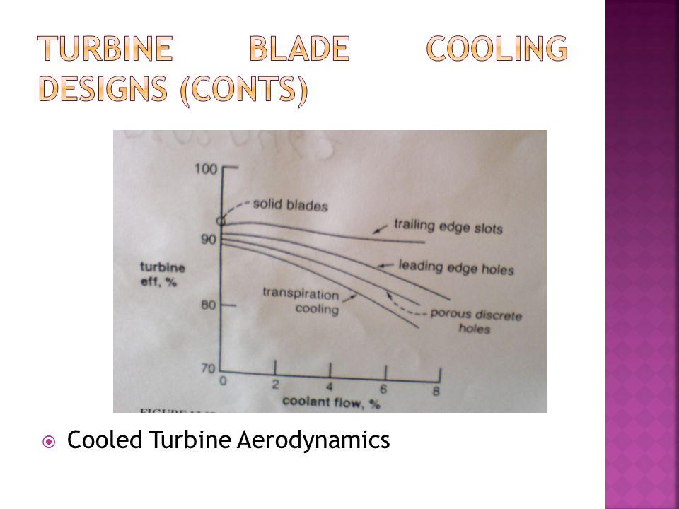  Cooled Turbine Aerodynamics