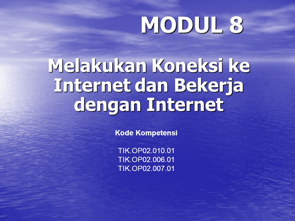 SETTING DIAL-UP KONEKSI INTERNET MENGGUNAKAN WINDOWS XP