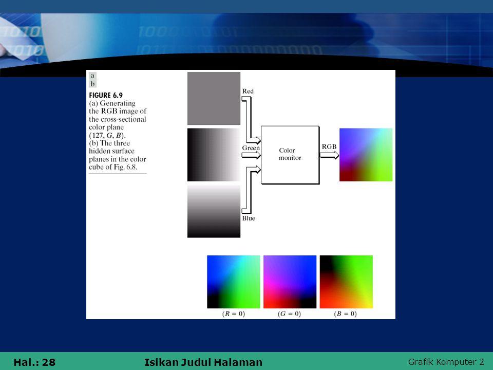 Grafik Komputer 2 Hal.: 28Isikan Judul Halaman