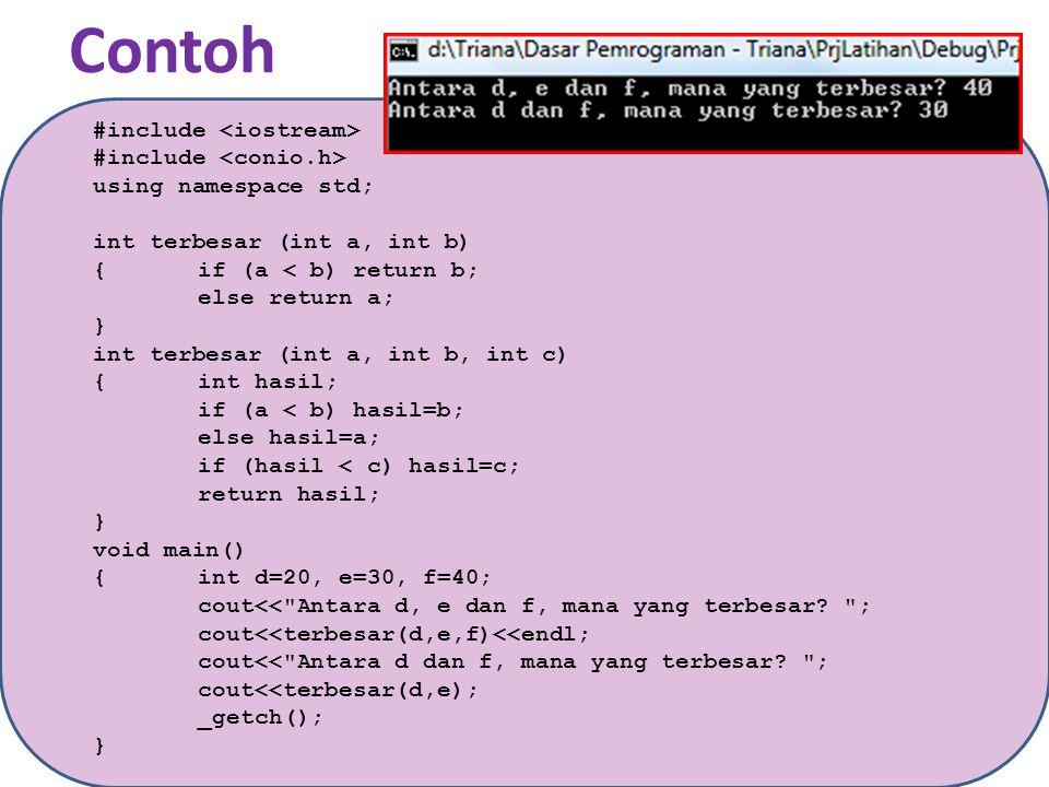 LATIHAN 1.Buatlah sebuah program C++ untuk menentukan bilangan terkecil dari lima buah bilangan yang diinput oleh user.