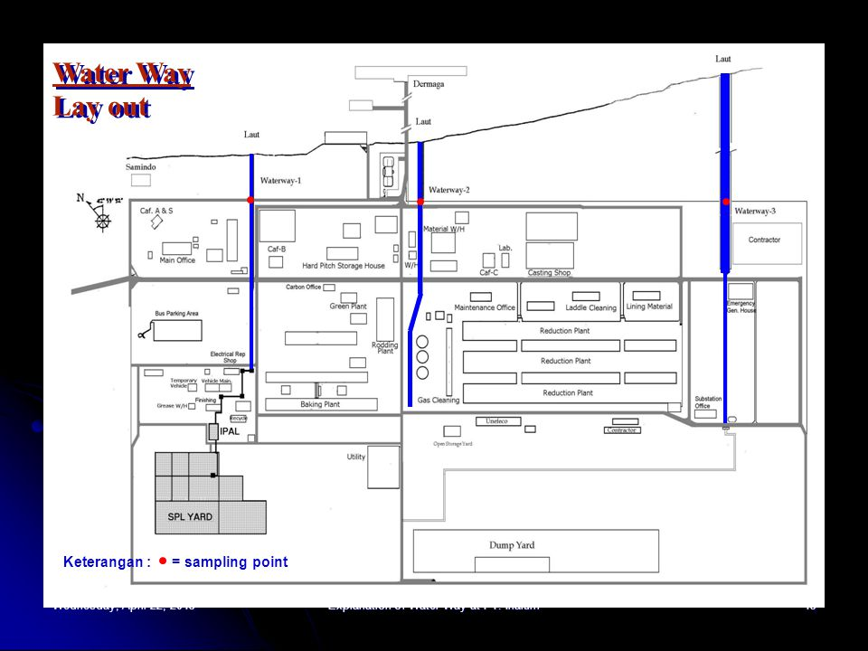 Wednesday, April 22, 2015Wednesday, April 22, 2015Wednesday, April 22, 2015Wednesday, April 22, 2015Explanation of Water Way at PT. Inalum13 Water Way