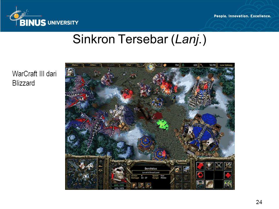 Sinkron Tersebar (Lanj.) WarCraft III dari Blizzard 24