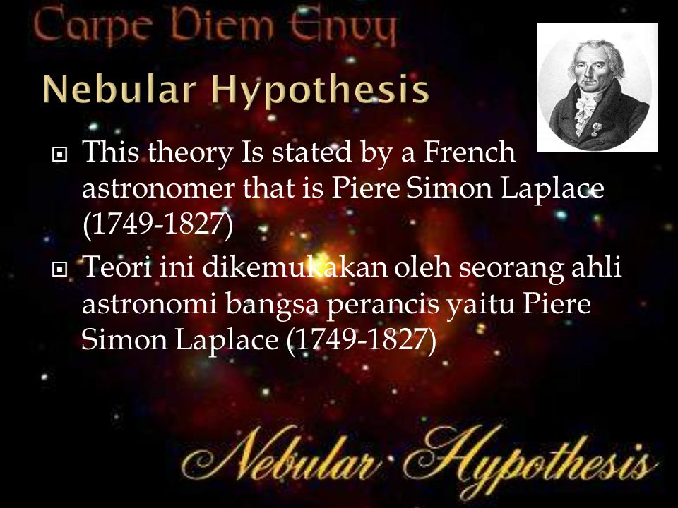 Kepler (1571-1630), is also supporter of Heliocentric theory, he states 3 laws as follows.