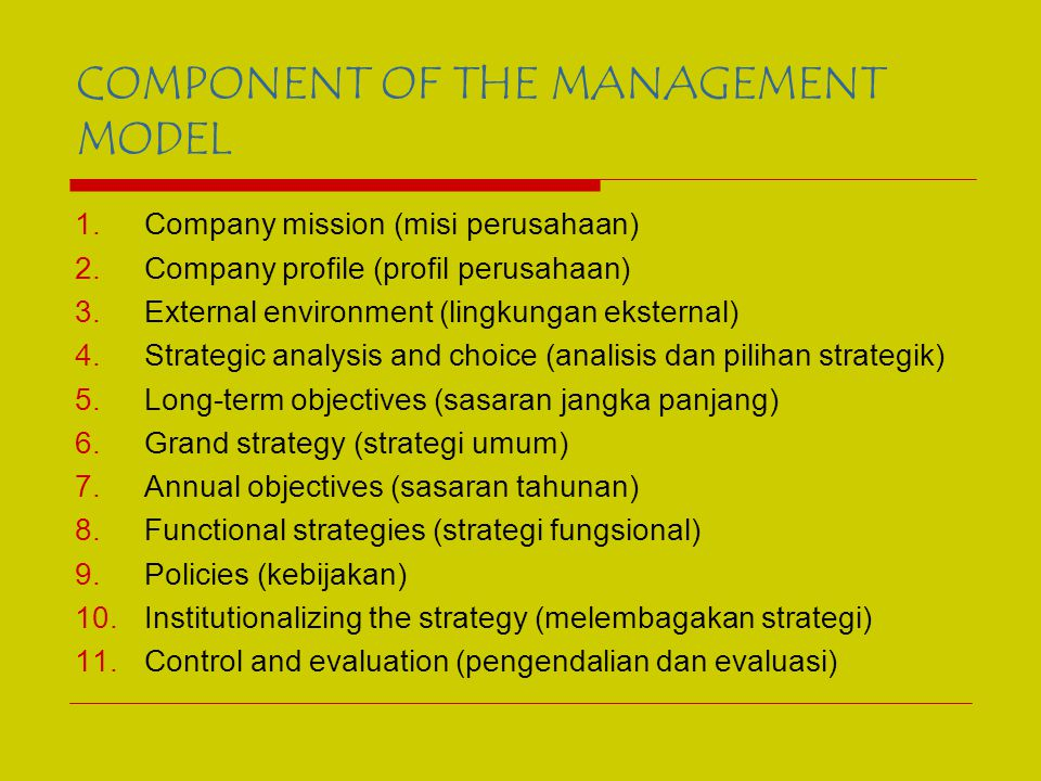 COMPANY MISSION External Enviraonment Operting Industry And Multinational Analysis COMPANY PROFILE Strategic Analysis and Choice Long – Term objective