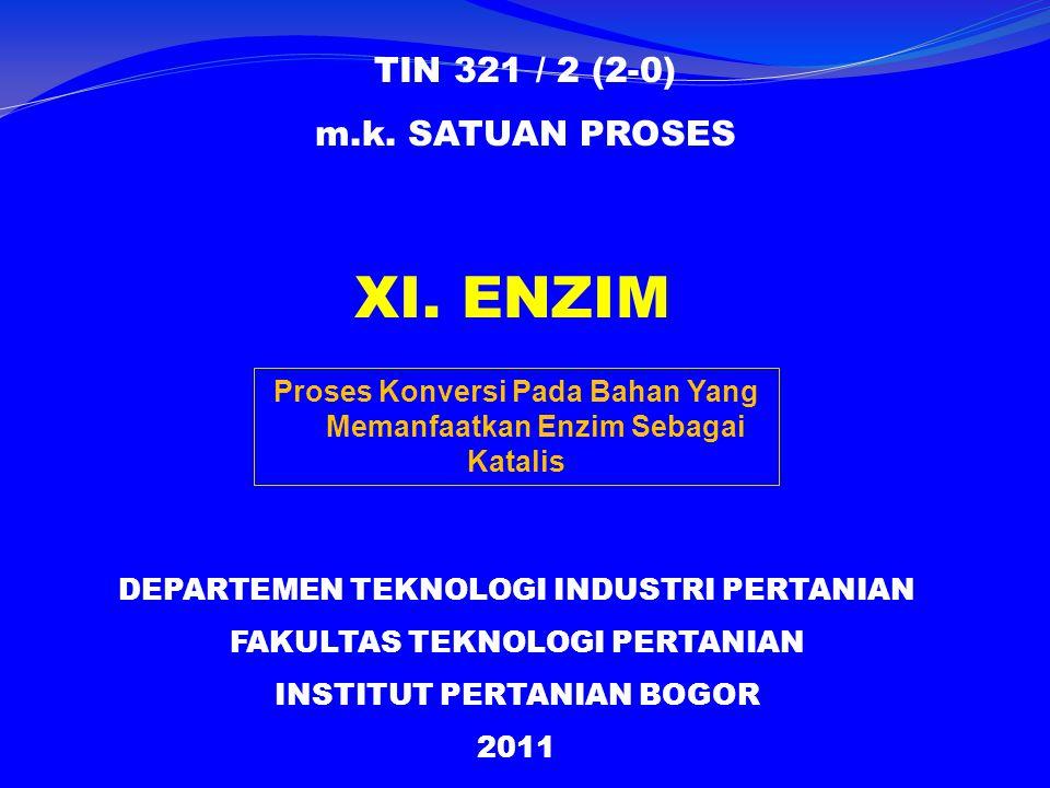 XI.ENZIM TIN 321 / 2 (2-0) m.k.