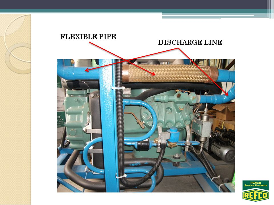 DISCHARGE LINE FLEXIBLE PIPE