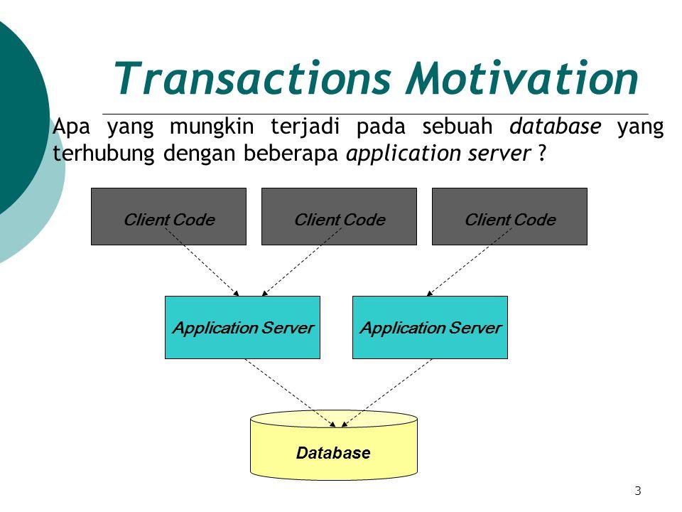 4 Transactions Motivation( cont.