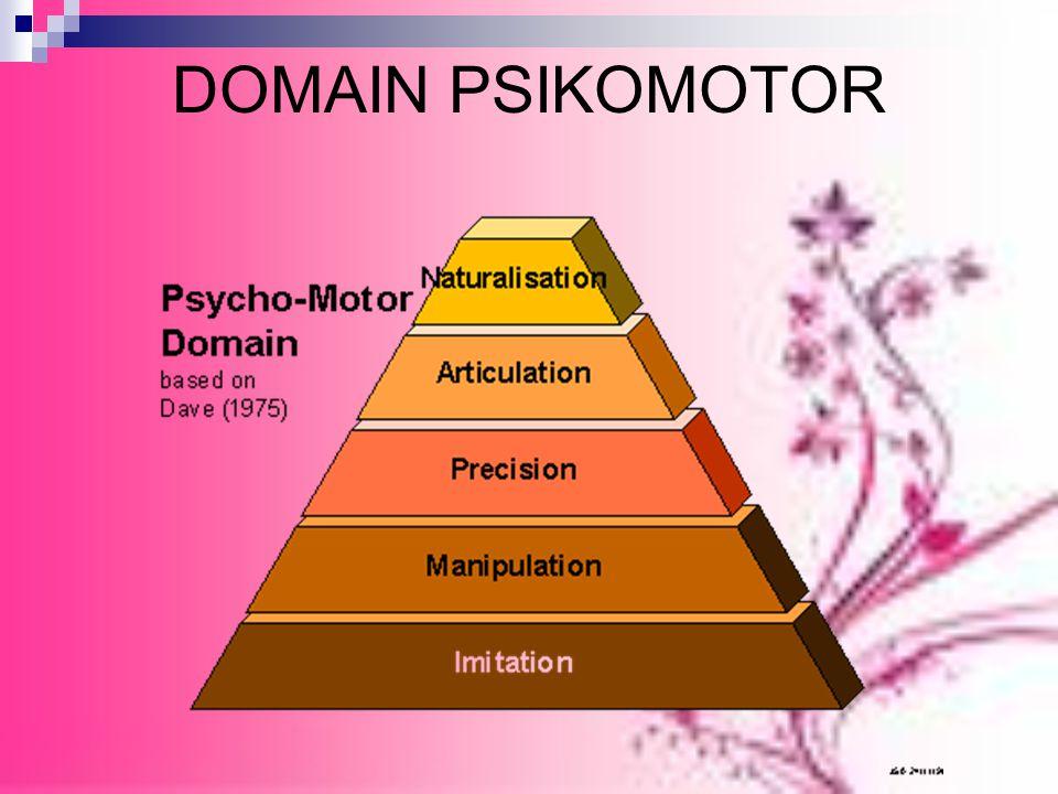 DOMAIN PSIKOMOTOR