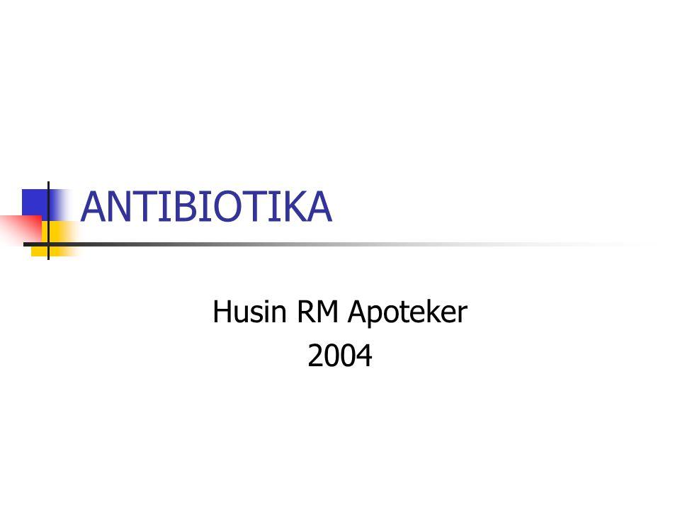 Antibiotika….