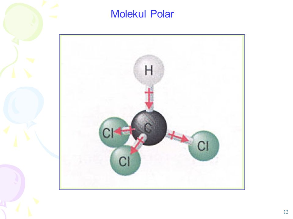 Molekul Polar 12
