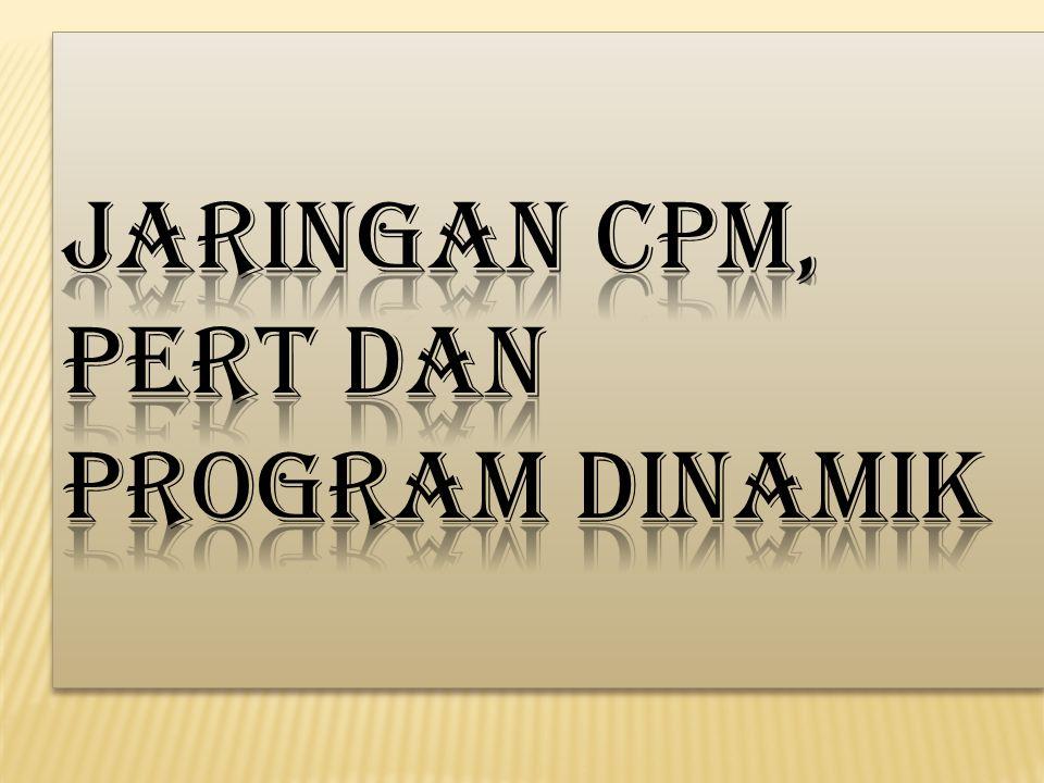 Jaringan CPM Sejarah CPM Pada tahun 1956 Morgan Walker dari DuPont Company, mencari cara yang lebih baik dalam penggunaan komputer Univac milik perusahaan, kerjasamanya dengan James E.