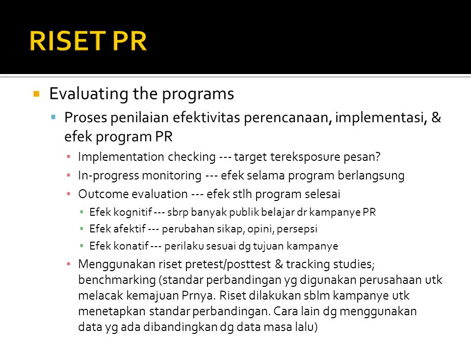  Copy research  Media research  Campaign assessment research