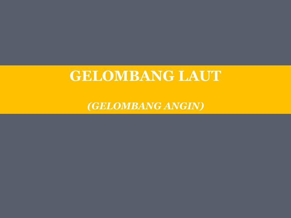GELOMBANG LAUT (GELOMBANG ANGIN)