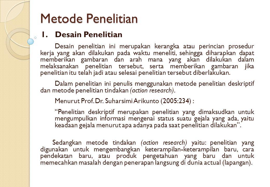 2.Jenis dan Metode Pengumpulan Data a) Sumber Data Primer Adapun Metode pengumpulan data yang dilakukan penulis adalah sebagai berikut: 1.