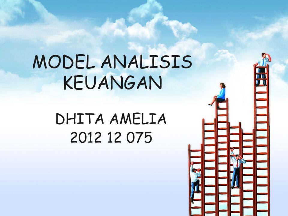 MODEL ANALISIS KEUANGAN DHITA AMELIA 2012 12 075