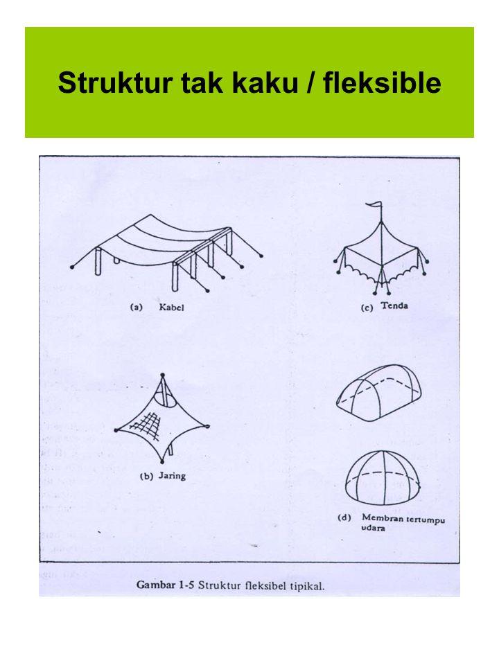 Struktur tak kaku / fleksible