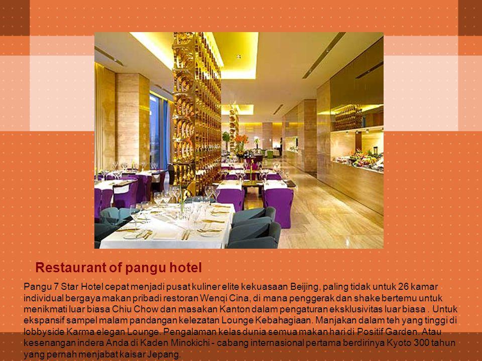 Guest Room Pada Pangu 7 Star Hotel Anda dimanjakan oleh yang terbaik dari segala sesuatu.