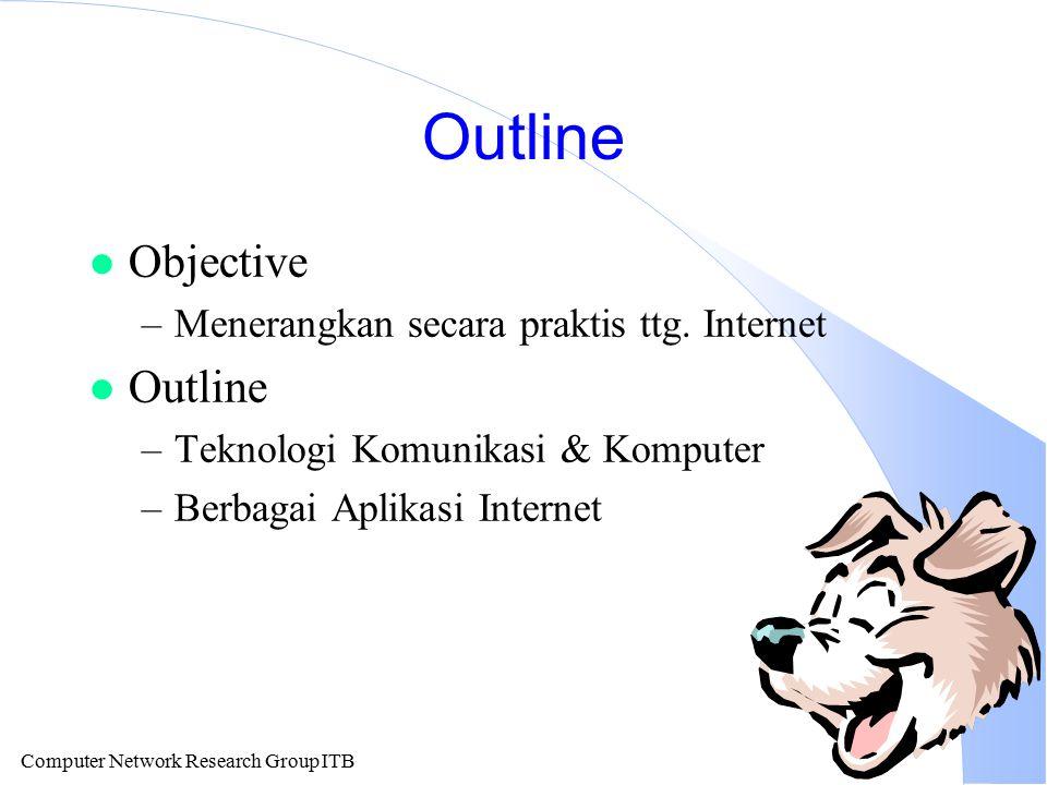 Computer Network Research Group ITB Distribusi Registrasi Domain Internet