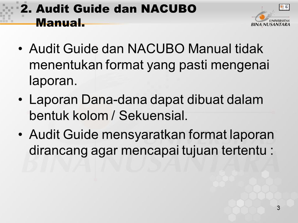 3 2.Audit Guide dan NACUBO Manual.