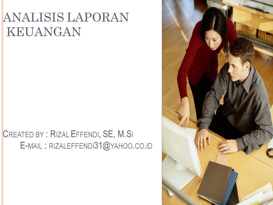 LAPORAN KEUANGAN ( FINANCIAL REPORT )