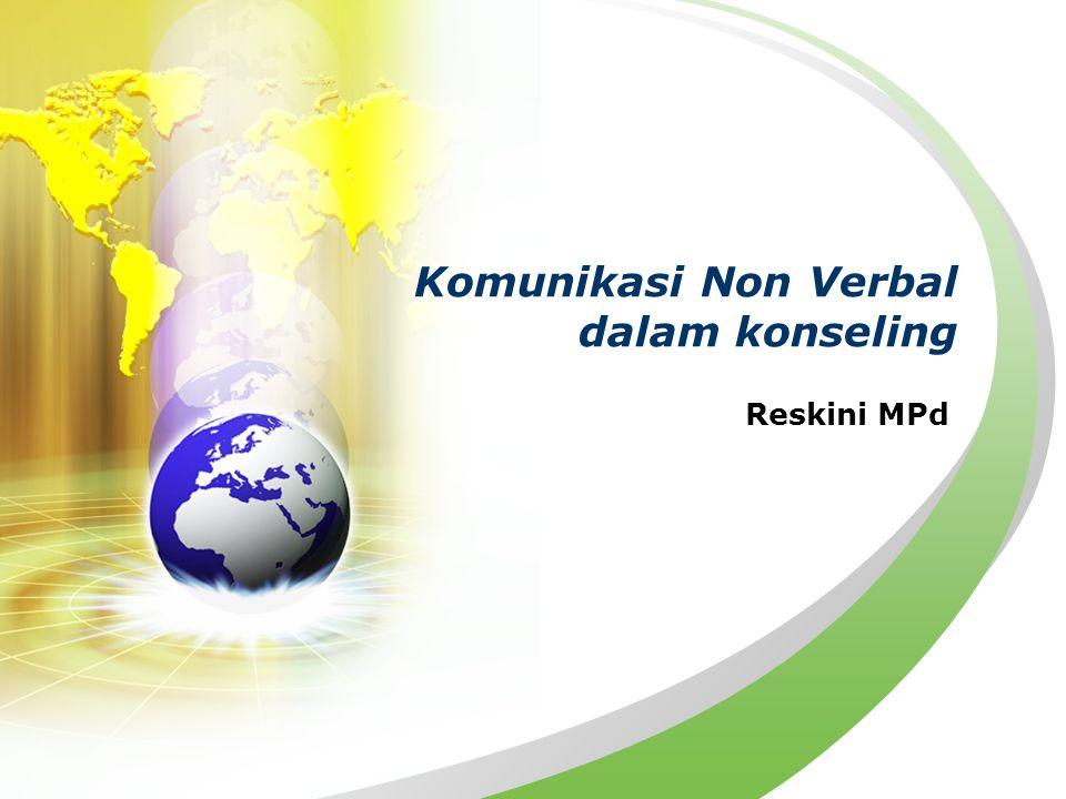 Komunikasi Non Verbal dalam konseling Reskini MPd
