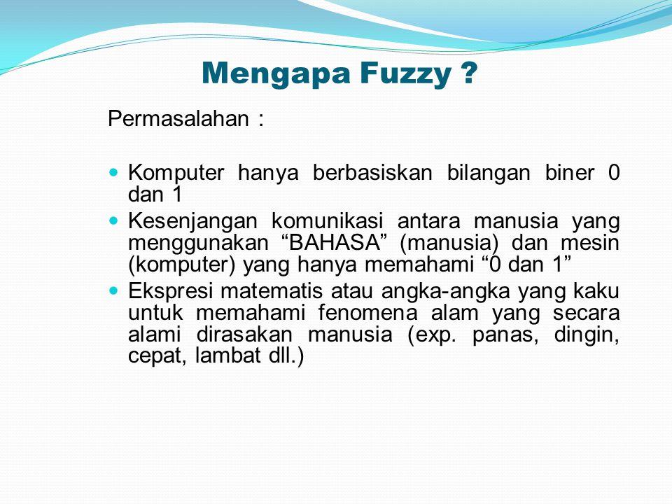 Mengapa Fuzzy .