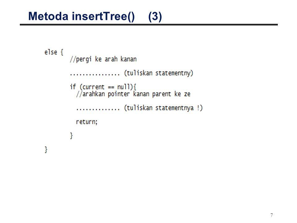 7 Metoda insertTree() (3)