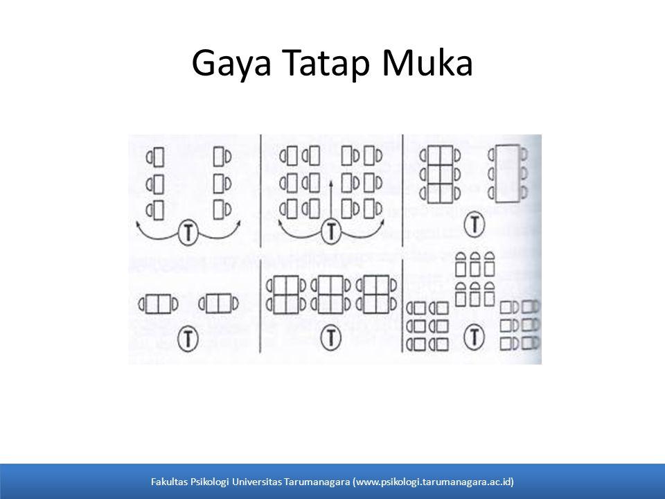 Gaya Tatap Muka Fakultas Psikologi Universitas Tarumanagara (www.psikologi.tarumanagara.ac.id)