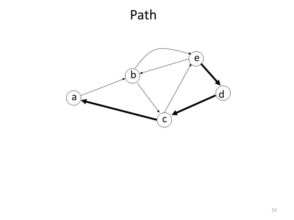 24 Path a b c d e