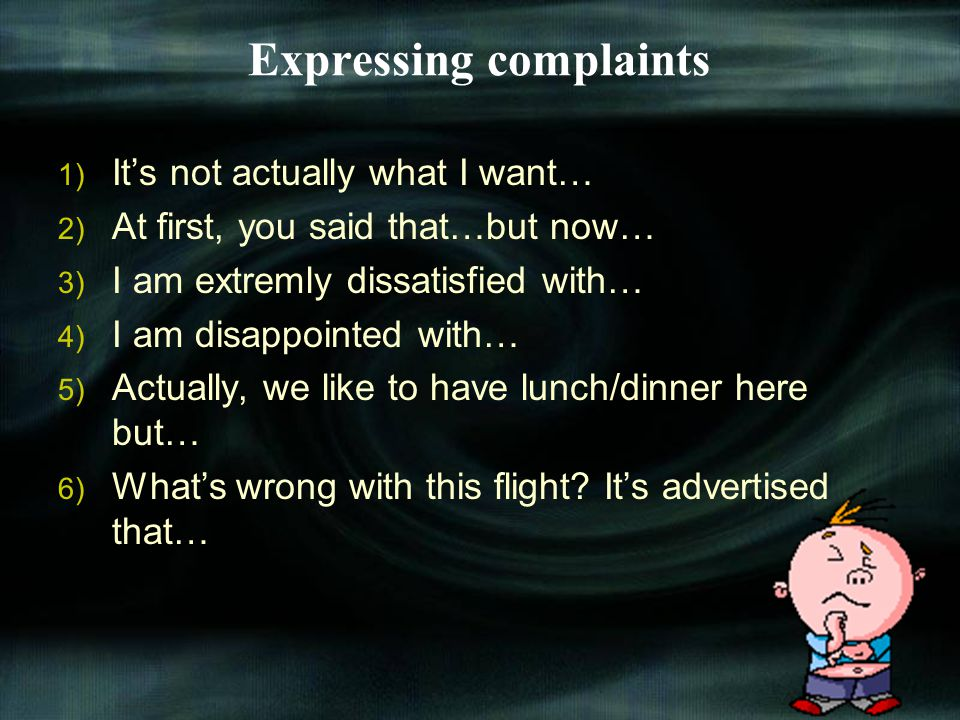 HANDLING COMPLAINT Complaint is something that expressed from customers or partners, because our company give bad service to customers or partners. Tr