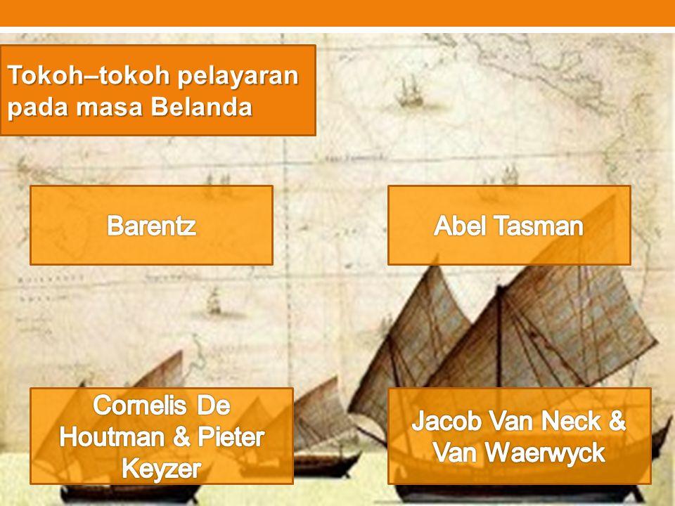 Tokoh–tokoh pelayaran pada masa Belanda